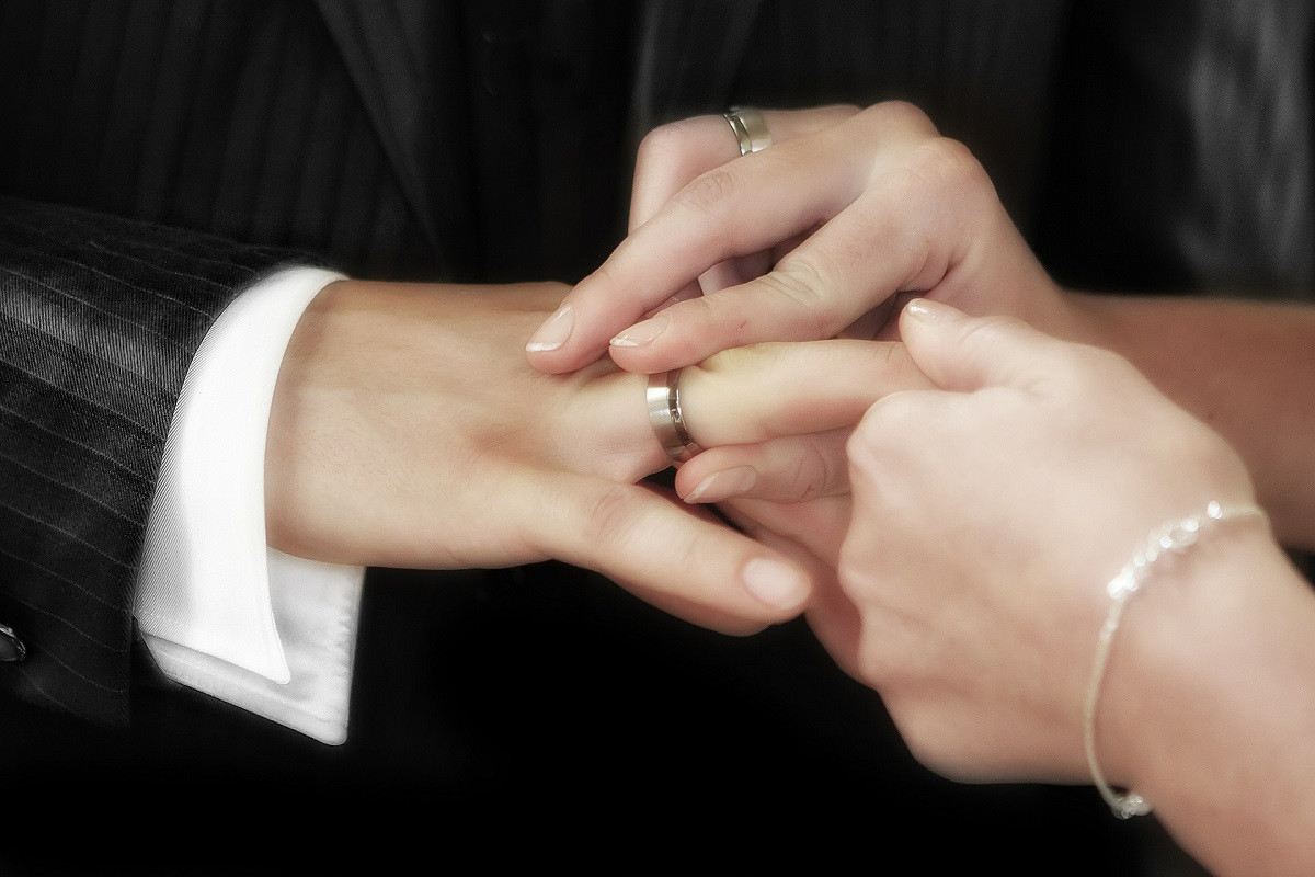 Huwelijk schenking